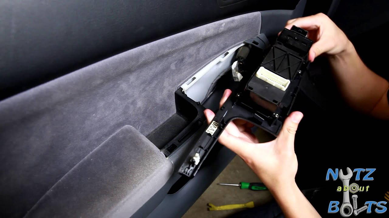 2000 xterra how to fix driver side window button