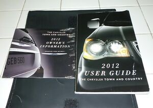 2013 chrysler town and country owners manual