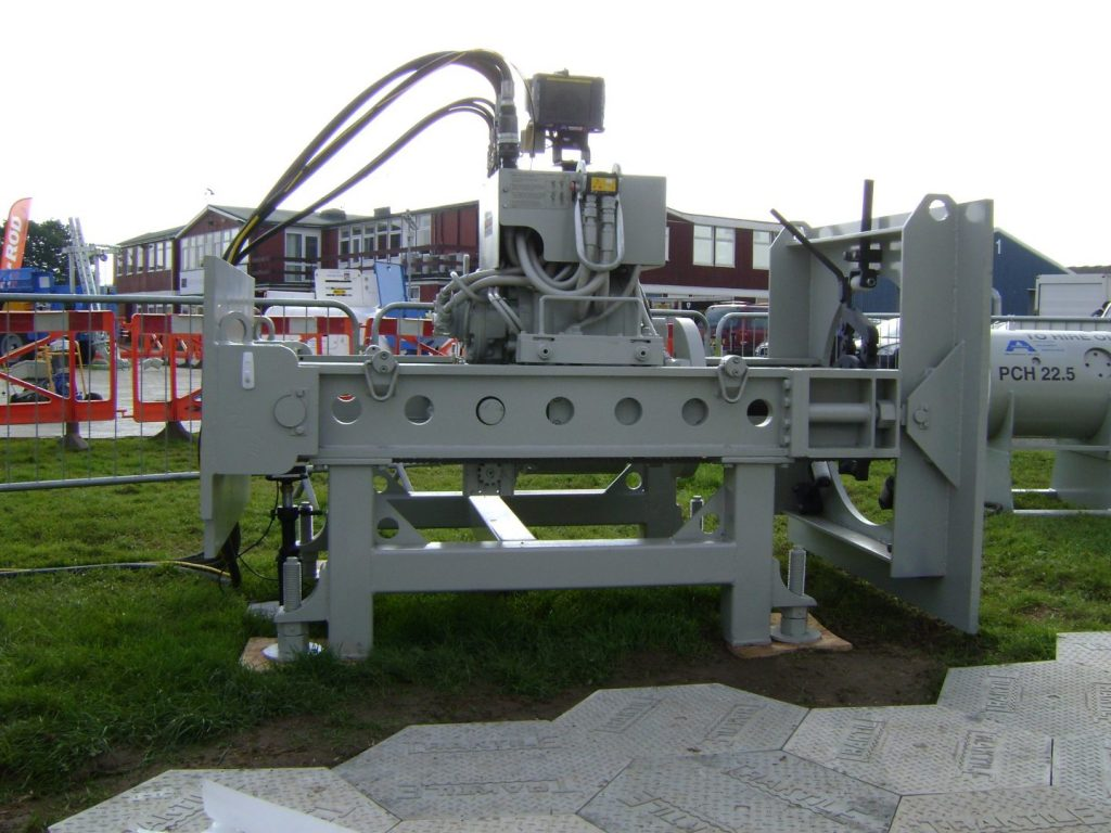 Guided auger boring machine for sale