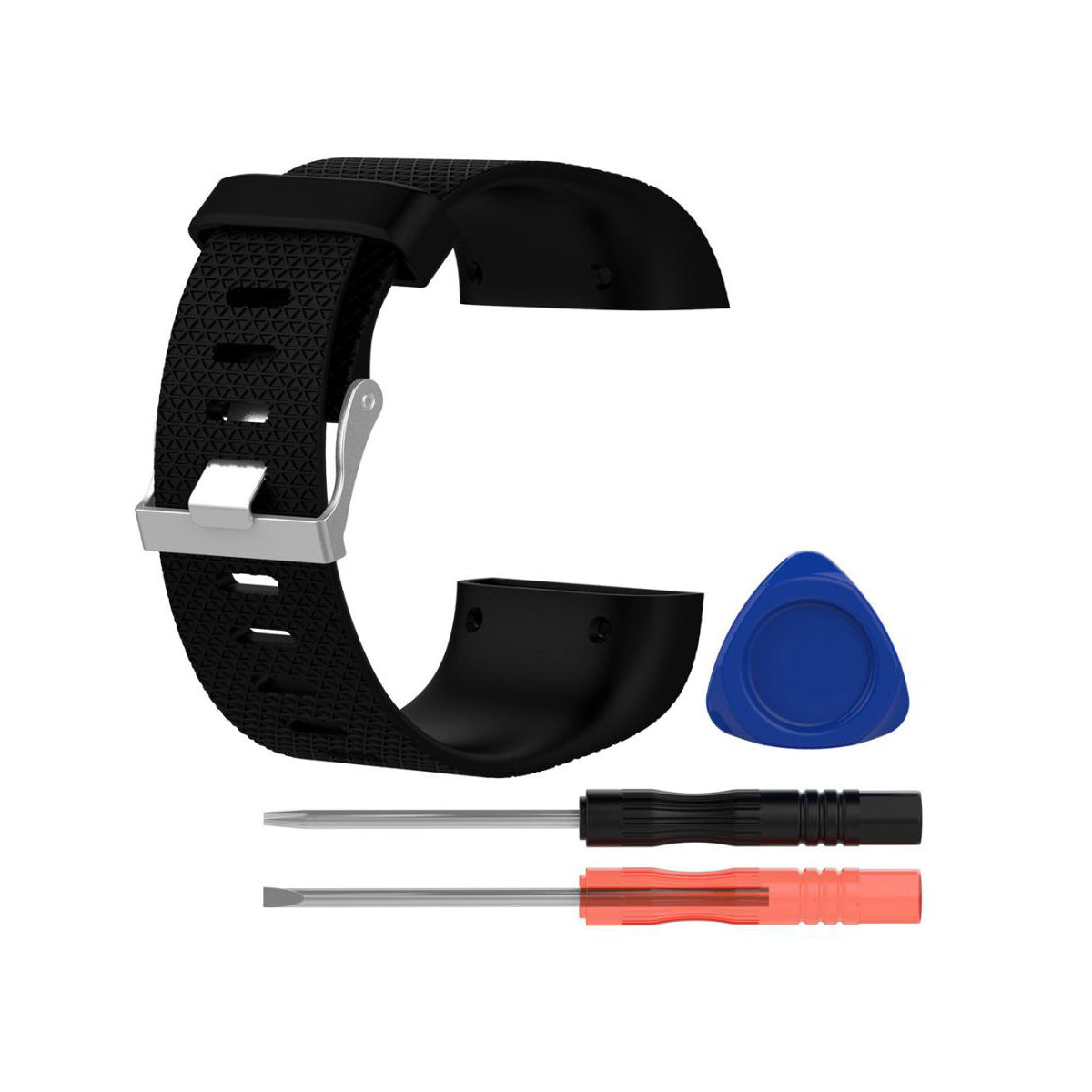 fitbit surge replacement band instructions