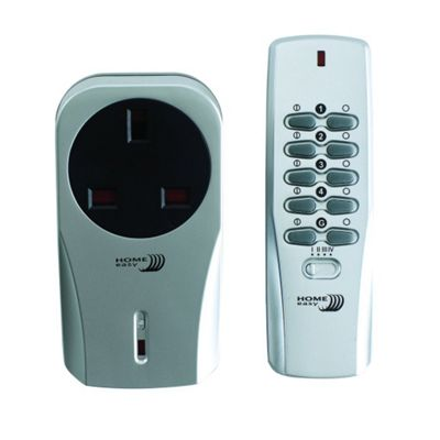 home easy remote control socket instructions